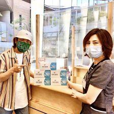 avenirオリジナルデザインマスク�売り上��一部を姫路日本赤�字病院�寄付����🌟